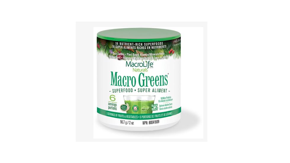Macro Greens- 6 Serves