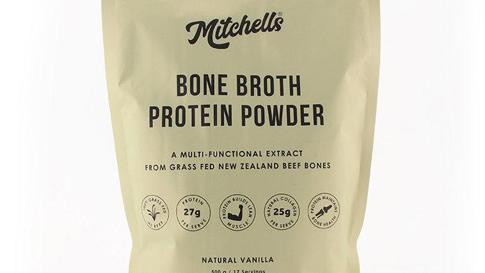 Bone Broth Protein Powder 500g Vanilla - Mitchell's