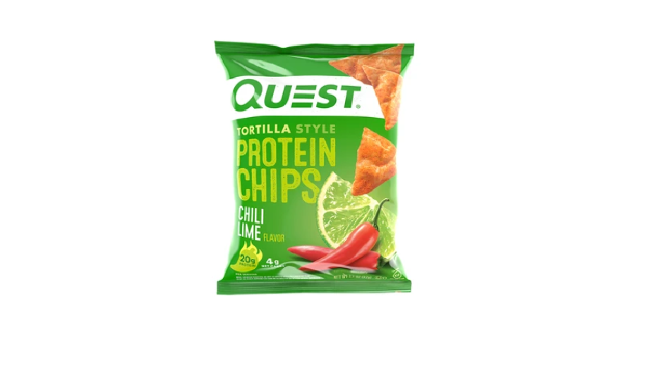 Quest Tortilla Style Protein Chips- Chili Lime