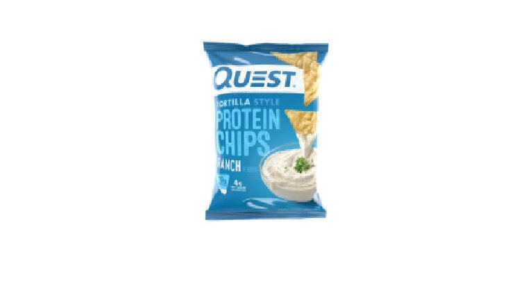 Quest Protein Style Tortila Chips- Ranch