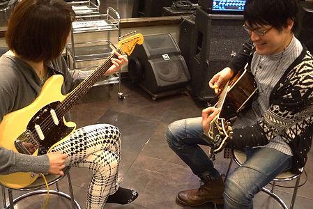 横浜、町田でギター、ベースのレッスン!個人レッスンならじっくり楽しい時間を過ごせます。
