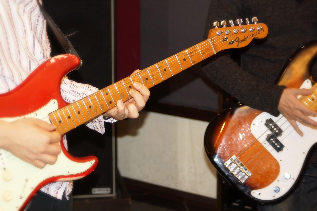 ギター、ベースセッション