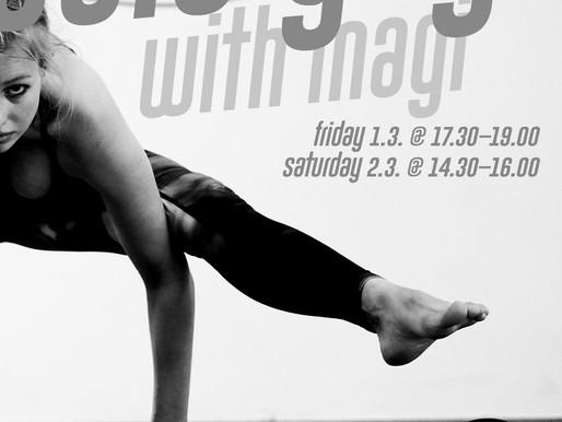 Acro Yoga with Magi