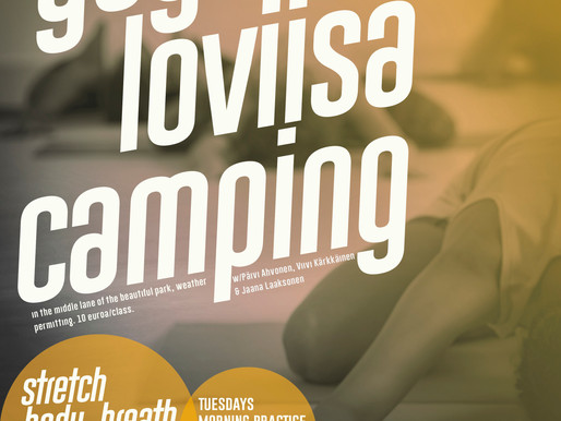 Yoga @ Loviisa Camping
