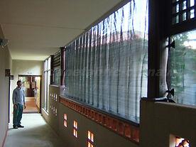 施工画像|ニラカナイ西表島 台風スクリーンシステム施工数No1のハリケーンファブリック沖縄