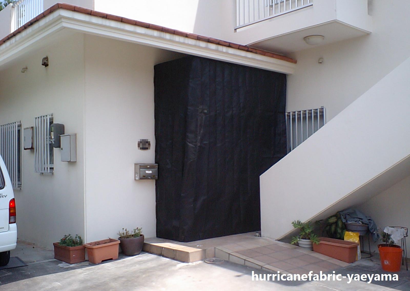 住宅 玄関(設置後)