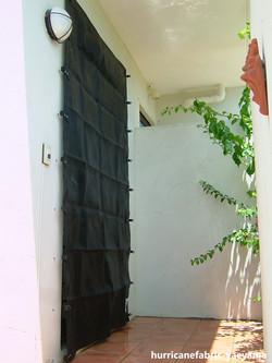 住宅 玄関(施工風景)