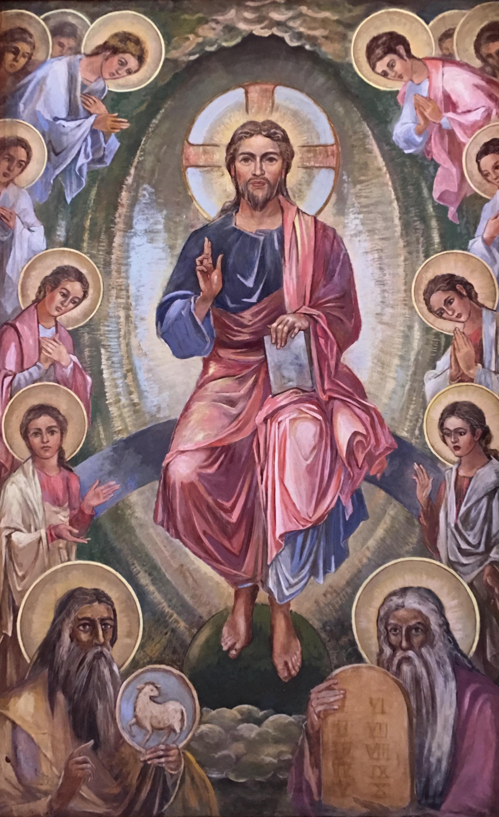Christ and his Saints