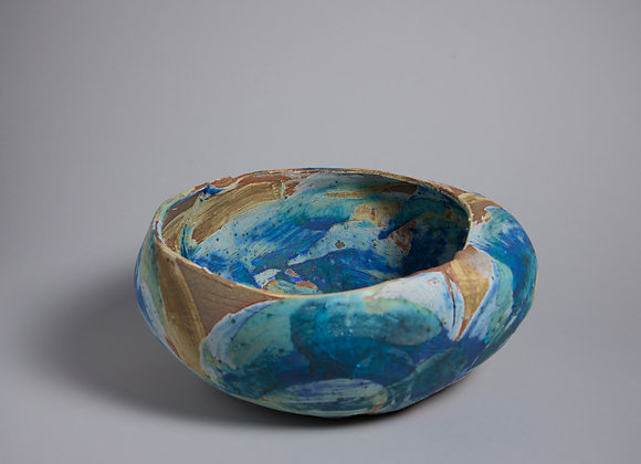stoneware bowl 22' wide