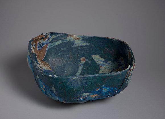 deep blue bowl lovely