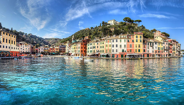 Лигурийское море— трансфер из Генуя, Милана, Болонья.