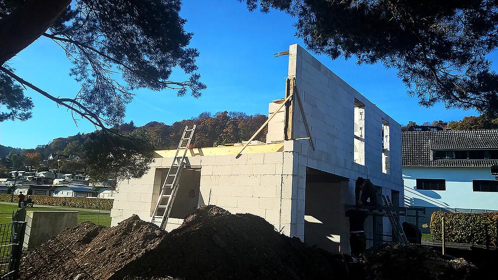 Baufortschritt nach 7 Wochen