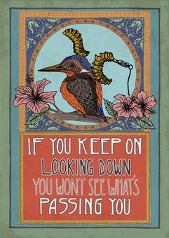 Keep looking down