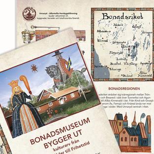 Leaflet for Bonadsmuseum