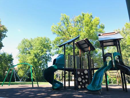 New Park Features can Define Local Neighbourhoods