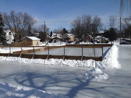 Outdoor Skating Season is Here