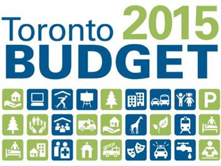 2015 City Budget (UPDATED)
