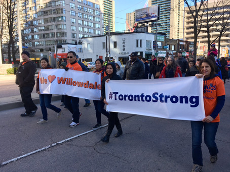 A note of thanks: #TorontoStrong Vigil