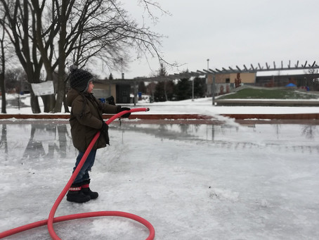 Wrapping Up Our Community Ice Rinks