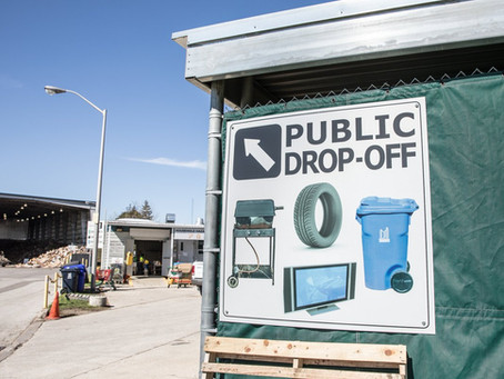 Waste Drop-Off Depots Closed due to COVID