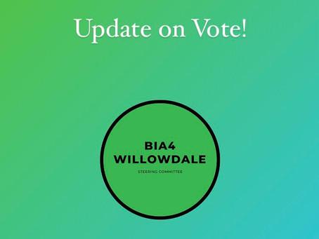 Willowdale BIA Poll Successful