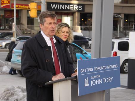Mayor Updates Congestion Management Plan at Yonge-Sheppard