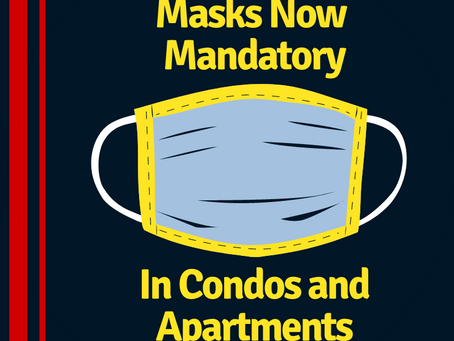City Cracks Down on Masks in Condos and Apartments
