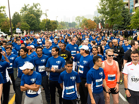 RBC Race for the Kids (Lane Restrictions) & Terry Fox Run