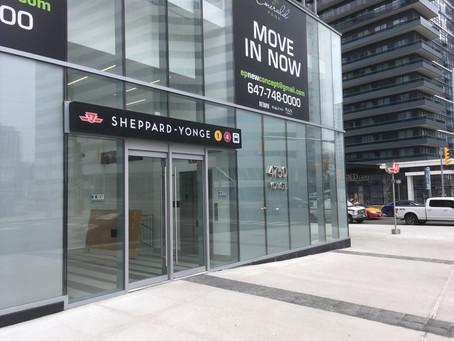 Update: Sheppard Yonge Station PRESTO Fare Gate Installation