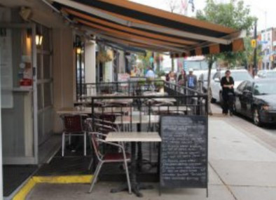 Encouraging Curb Lane Cafes in 2021