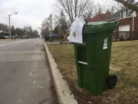 New Green Bins arriving in Willowdale