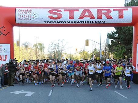 Toronto Marathon – May 5 (ROAD CLOSURES)