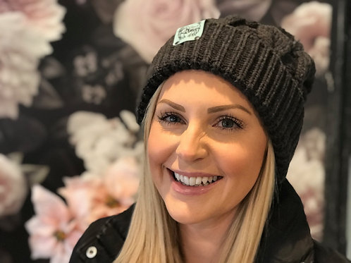 Charcoal Winter Hat