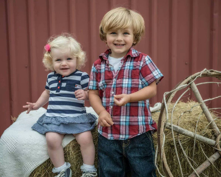 Rowyn and her brother Wyatt