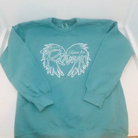 Teal Crewneck Sweatshirt