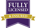 Flly Licensed and Insured