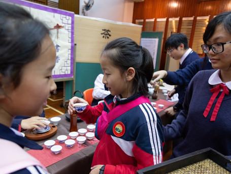 雲南省中小學師生代表團探訪