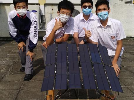 2021 太陽能充電車模型設計比賽獲獎