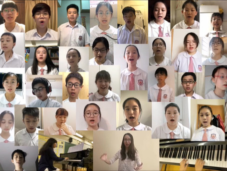 恭賀同學於「香港聯校音樂大賽 2020」獲取佳績