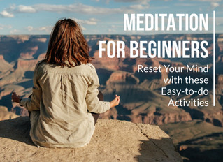 6 Simple steps to start a meditation practise for beginners