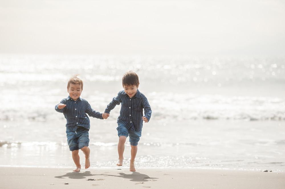 海を走る兄弟