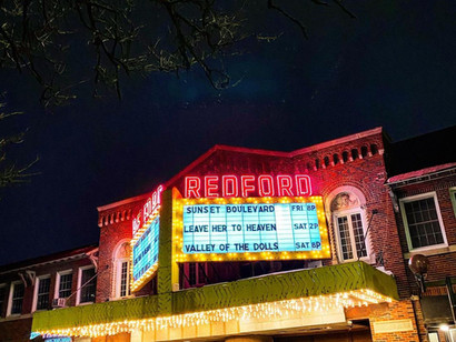 The Show that Goes On:  Detroit's Redford Theatre in the Age of Covid