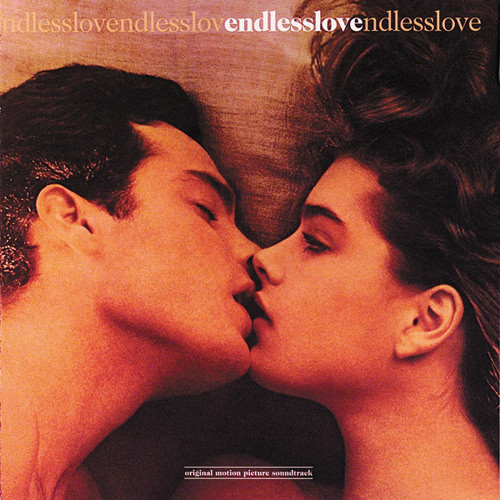 Martin Hewitt and Brooke Shields on the poster of Endless Love