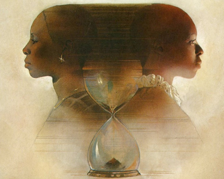 The cover art for the first edition of Octavia Butler's debut novel, Kindred.