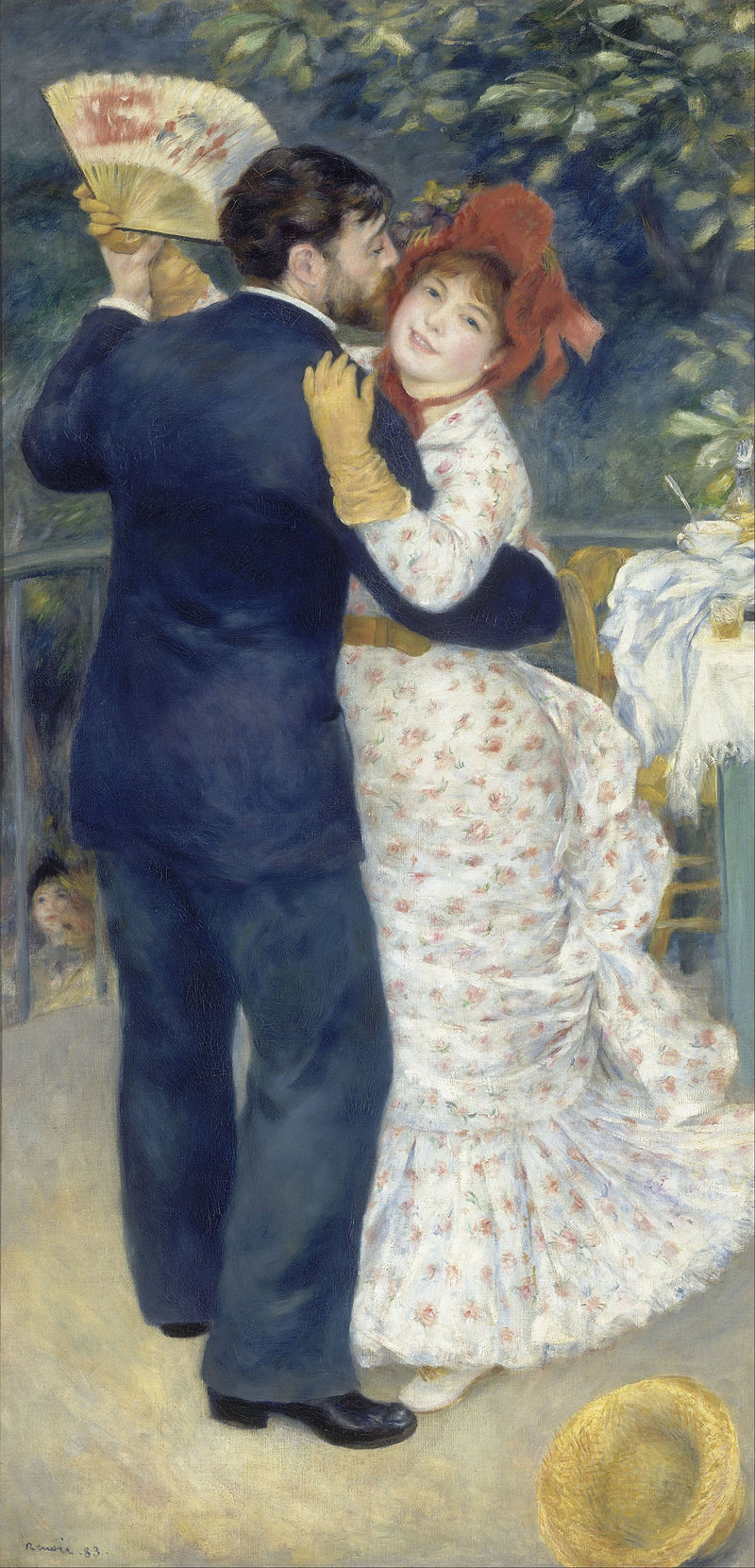 Pierre-Auguste Renoir's 1883 painting, Dance in the Country
