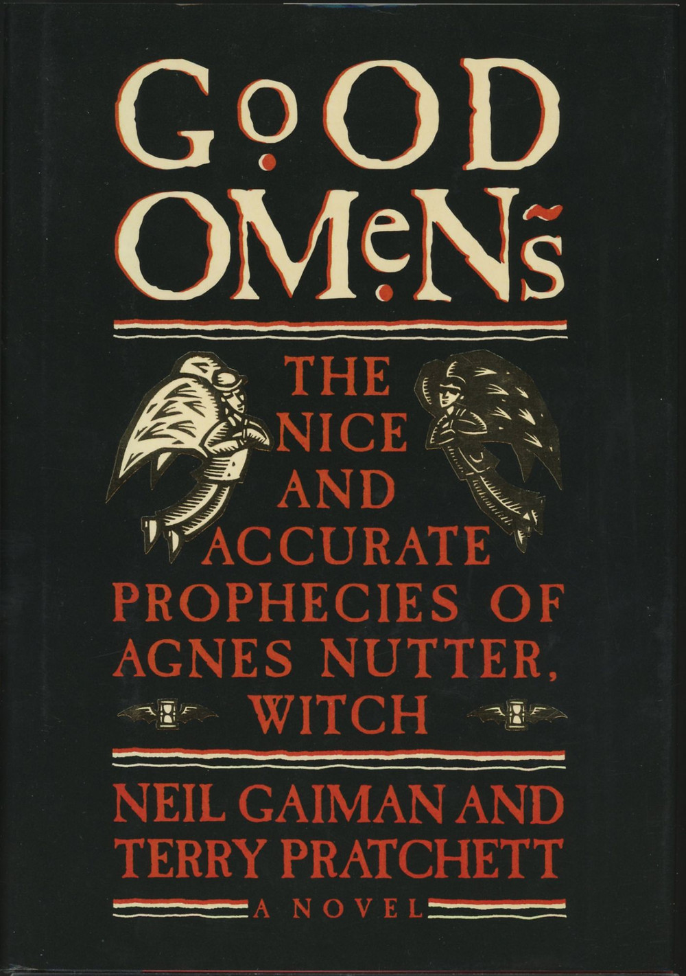 Good Omens Pratchett Gaiman cover angel demon