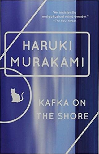 The 2006 Vintage Books edition cover of Haruki Murakami's Kafka on the Shore