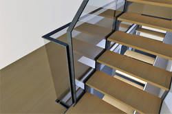 detail depart GC escalier RDC
