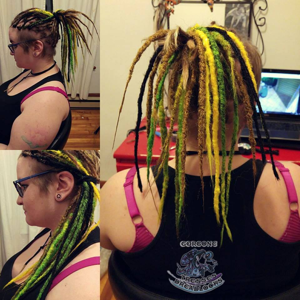 Dreadlocks naturelles