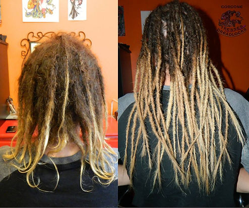 Confection de rallonges pour dreadlocks naturelles